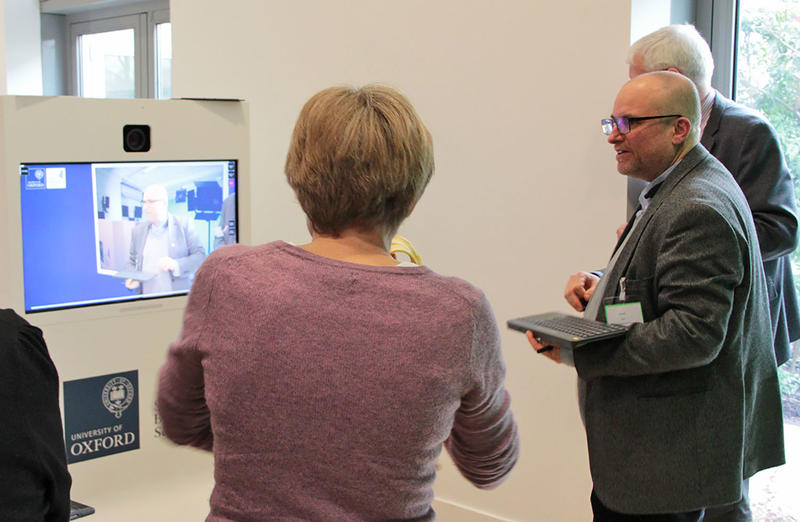 Oxford academics using Rapidmooc for instant video creation