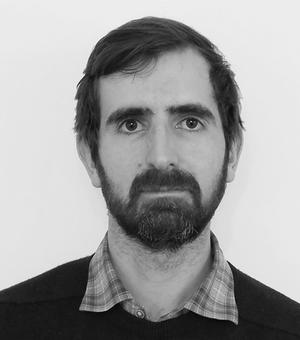 black and white profile picture andrew cavers