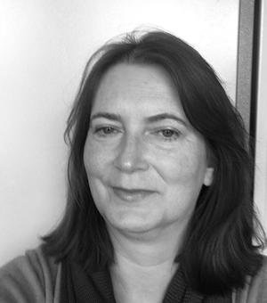 black and white profile picture delia orourke