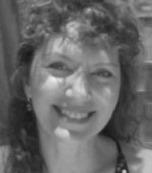 black and white profile picture denise mcdonough
